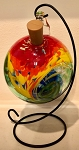 Rainbow Hanging Lighted Globe with String Lights